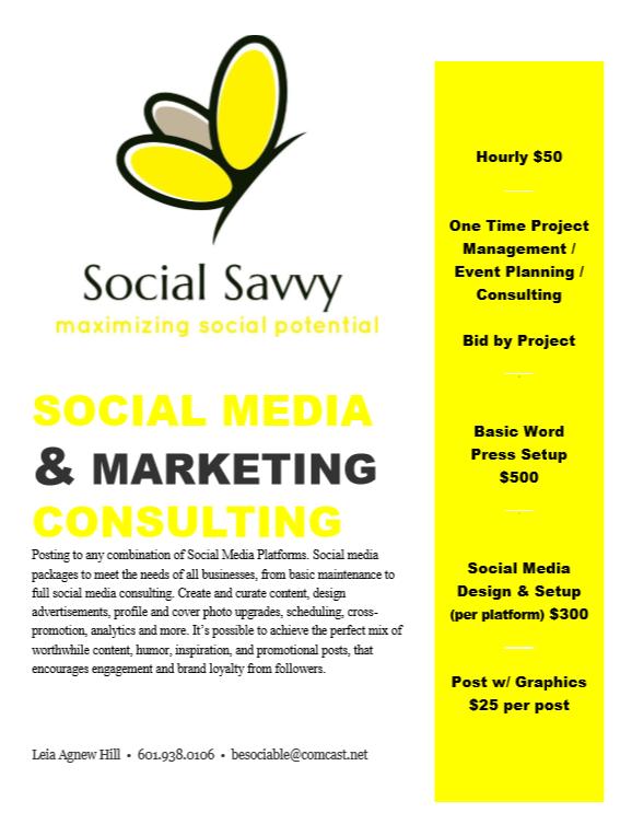 social savvy media rates social media reais agnew hillte le